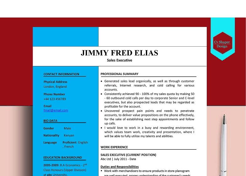 online Résumé maker